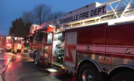 One Person Rescued From A House Fire