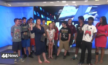 Students From Sycamore Services Visit 44News