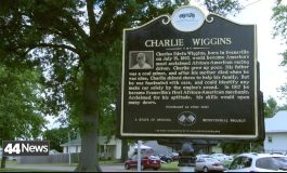 Charlie Wiggins Historic Marker Placed In Evansville