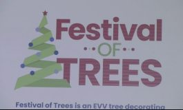 Festival of Trees Going On Now At The Evansville Regional Airport
