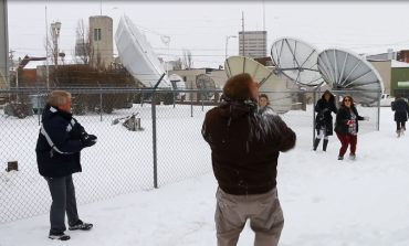 44News Employees Partake in Snowball Fight