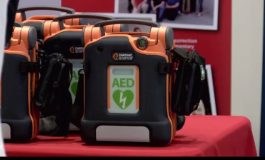 ISP Receives Donation of 14 Automatic External Defibrillators