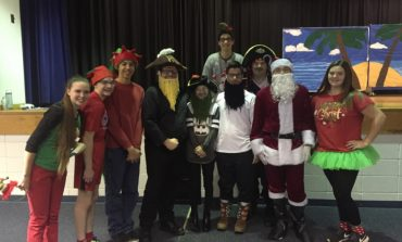 Students At Apollo High School Hitting Stage For Annual Christmas Play