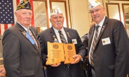 Boonville Officer Receives Honor from American Legion