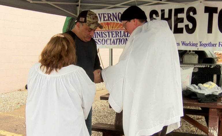 Mt. Vernon Ministerial Association Offers Ashes On The Go