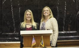 Tri-State Grad Interning with State Rep. Wendy McNamara