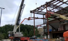 Final Beam Placed on USI's New PAC