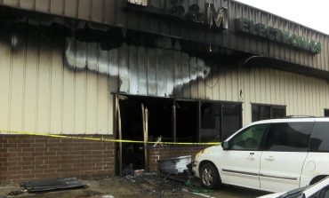 Late Night Fire Breaks Out at Evansville Business