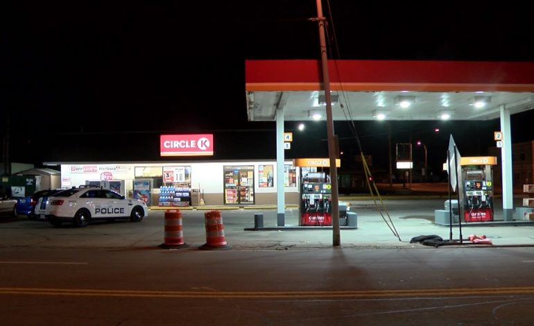 Suspect Sought Following Gas Station Robbery In Evansville
