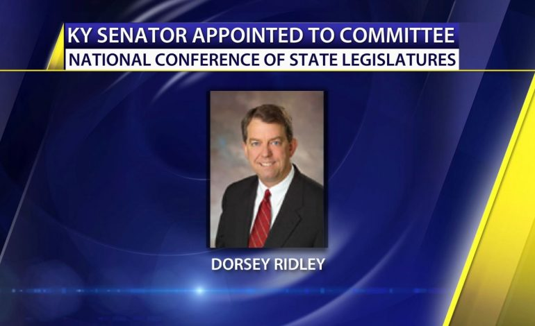 Dorsey Ridley Selected To Serve On National Committee