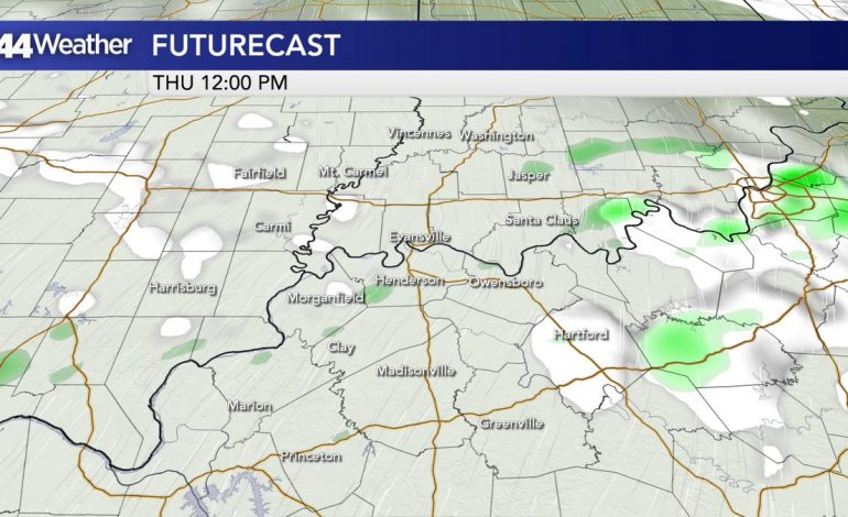 From Frigid to Mild…Rain Chances Increase