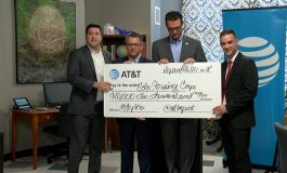 Echo Housing Receives $10,000 Donation from AT&T