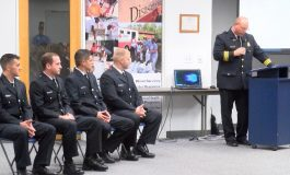 Evansville Fire Department Welcomes New Recruits
