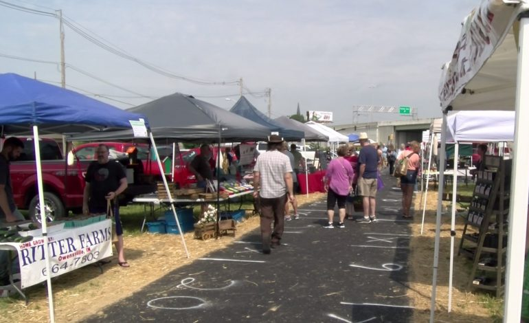 Downtown Evansville Farmers Market Kicks Off Its Season