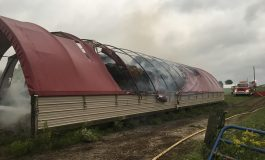 Roughly $6,000 of Hay Lost in Ferdinand Barn Fire