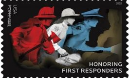 U.S. Postal Service Issues Stamp Honoring First Responders