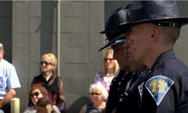 Indiana State Police Memorial Honors Fallen Officers