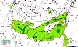 Cold Fronts & A Warmer Weekend