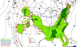 Passing Cold Front Brings Relief