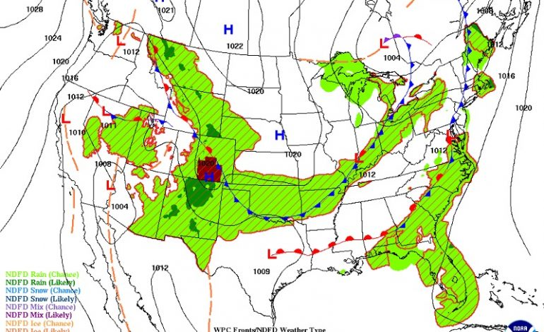 A Front, A Low And The Weekend Ahead