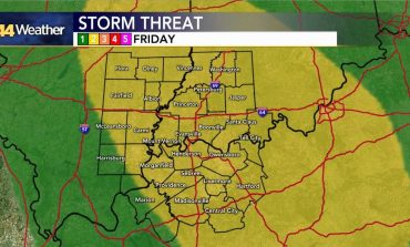 Risk For Severe Weather On Friday