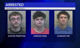 Three Arrests Made in Henderson Golf Course Burglary