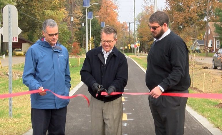 New Section of Evansville's Greenway Opens Now Open