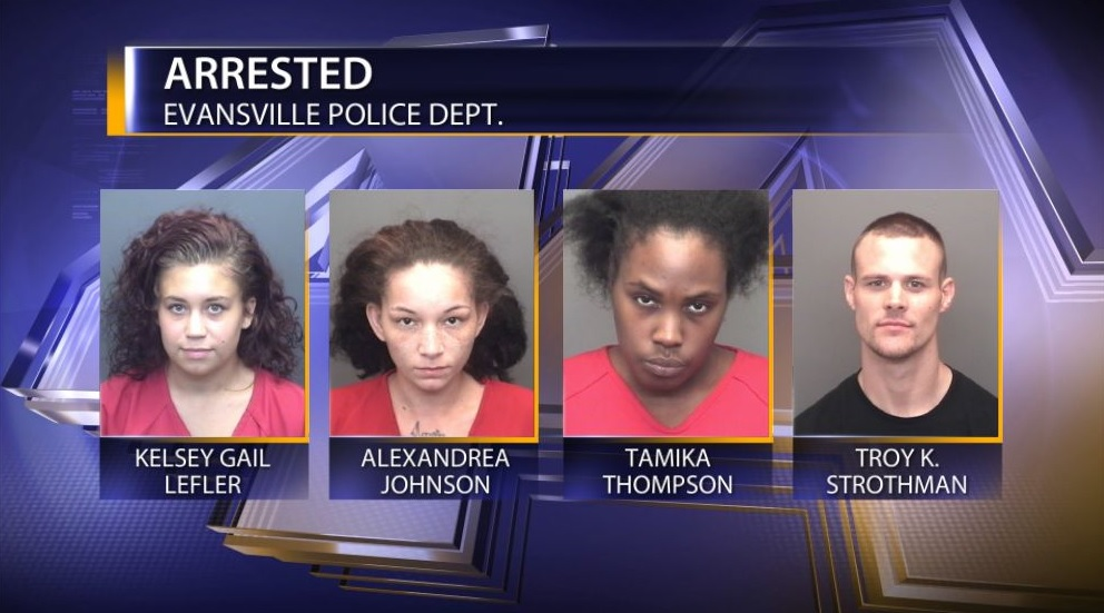 Four People Arrested After Attacking And Robbing Woman At A Motel