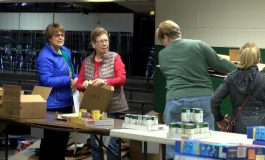 Dream Center Prepares Christmas Food Boxes