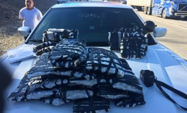 Traffic Stop Leads To Seizure Of More Than 30 Pounds Of Marijuana