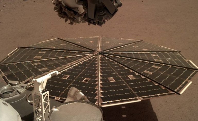 NASA's InSight Lander records audio from the surface of Mars