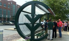 Ivy Tech Reveals Artist Who Designed New Bus Shelter