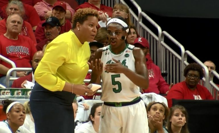 44Sports Catches up with Jackie Young and Notre Dame WBB vs. Louisville