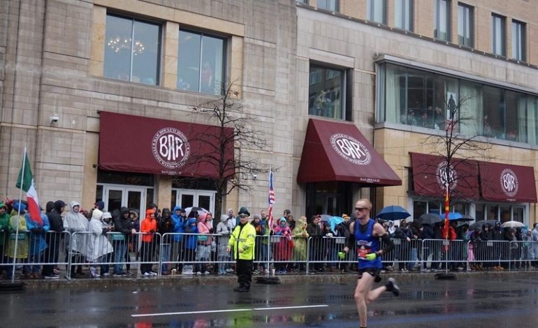 Tri-State Runners Brace Cold Temperatures To Run Boston Marathon
