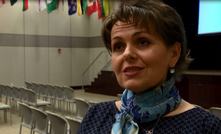 Indiana Teacher of the Year Visits the University of Evansville