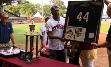 Otters Sweep Rascals, Honor Greg Jelks and Janet Gries