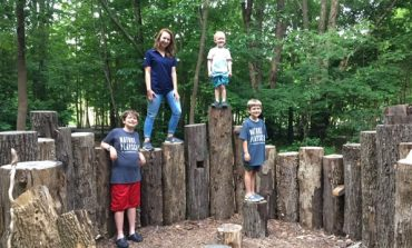 Wesselman Woods Welcomes 44News to Their New Nature PlayScape