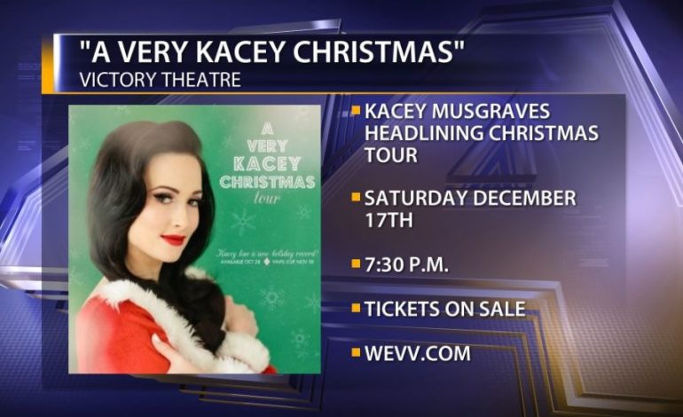 a very kacey christmas tour comes to the victory theatre