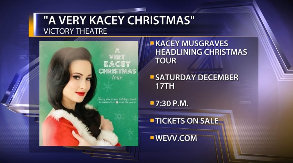 A Very Kacey Christmas Tour Comes To The Victory Theatre - 44News ...