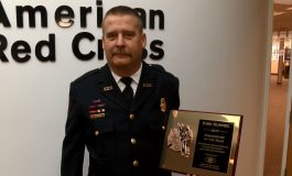 17-Year Veteran Receives Firefighter of the Year Award