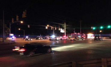 Two People Injured in Crash Involving Truck and Motorcycle