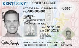 New Kentucky License Design Unveiled