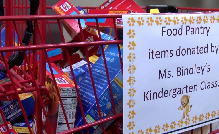 Lincoln Elementary School Opens Food Pantry