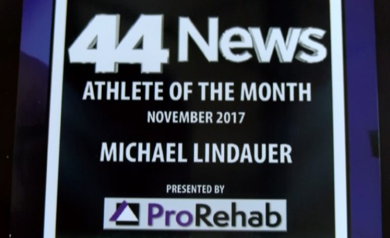 44News Athlete of the Month Presented by ProRehab: Michael Lindauer