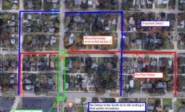 Section of Lodge Avenue in Evansville Set to Close