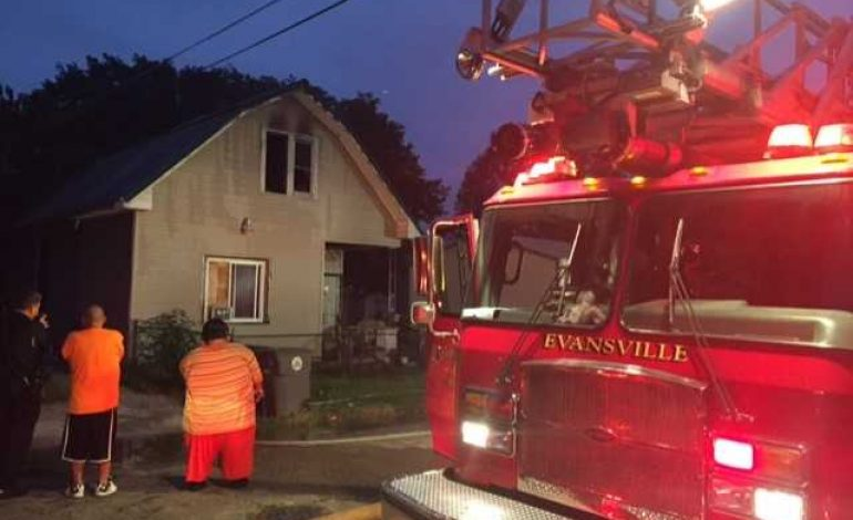 Investigators Looking Into Cause Of Early Morning Fire In Evansville