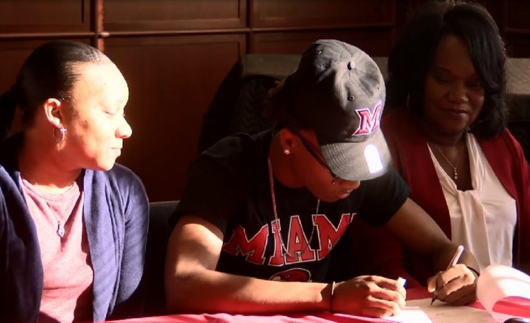 Bosse's Mekhi Lairy Signs with Miami (OH) Basketball