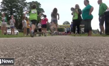 Students Staying Active By Running One Mile Along Newburgh Riverfront
