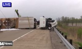 Portion Of Highway 231 Closed After Semi Overturns In Daviess County