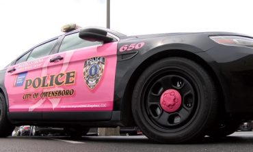 Owensboro Police Officer's Pink Cruiser Raises Awareness for Cancer